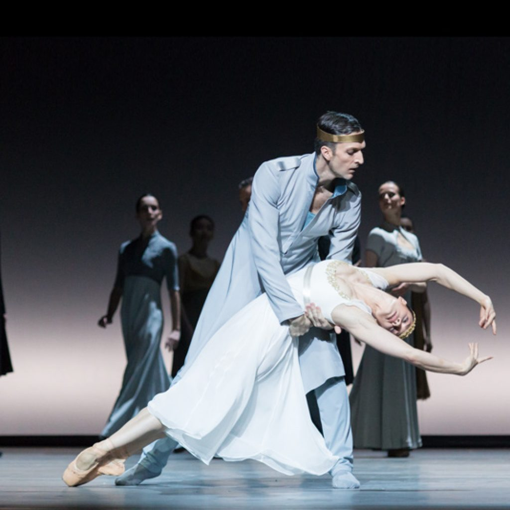 Raphaël Coumes-Marquet, Courtney Richardson - Tristan + Isolde - Semperoper Ballett - photo © Ian Whalen