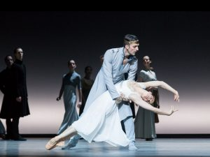 Raphaël Coumes-Marquet, Courtney Richardson - Tristan + Isolde - Semperoper Ballett - photo © Ian Whalen