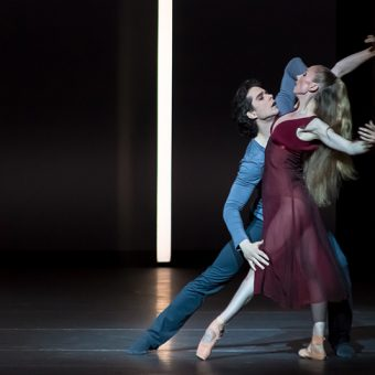 Anna Merkulova, István Simon - Tristan + Isolde - Semperoper Ballett - photo © Ian Whalen