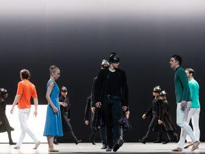 Ensemble - Tristan + Isolde - Semperoper Ballett - photo © Ian Whalen