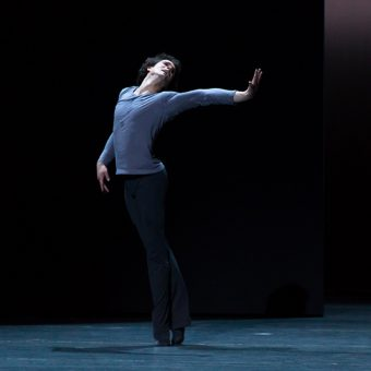 István Simon - Tristan + Isolde - Semperoper Ballett - photo © Ian Whalen