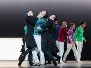 Fabien Voranger, Laurent Guilbaud and Jon Vallejo - Tristan + Isolde - Semperoper Ballett - photo © Ian Whalen