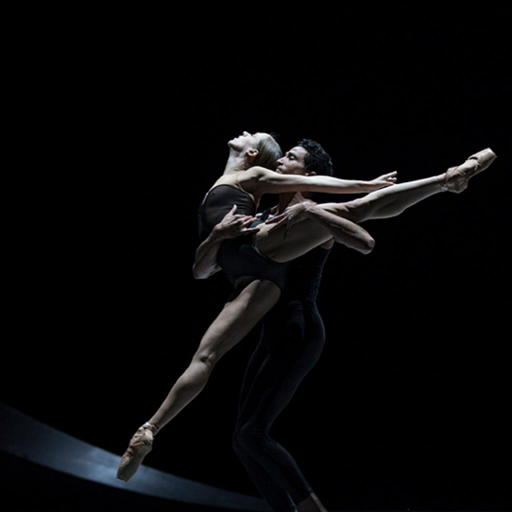 Lesley Rausch and Karel Cruz - Empire Noir - PNB - photo © Angela Sterling