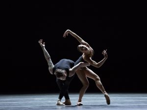 Sasha Mukhamedov and James Stout - Empire Noir - Dutch National Ballet - photo © Angela Sterling