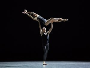 Floor Eimers and Jozef Varga - Empire Noir - Dutch National Ballet - photo © Angela Sterling
