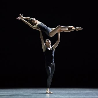 Floor Eimers and Jozef Varga - Empire Noir - Dutch National Ballet - photo © Angela Sterling