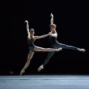 Suzanna Kaic and Edo Wijnen - Empire Noir - Dutch National Ballet - photo © Angela Sterling