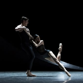 Lindsi Dec and Joshua Grant - Empire Noir - PNB - photo © Angela Sterling