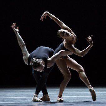 Sasha Mukhamedov and James Stout - Empire Noir - Dutch National Ballet - photo © Angela Sterling
