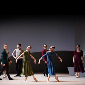 Beth Kingsley-Garner, Constance Devernay - Swan Lake - Scottish Ballet - photo © Andy Ross